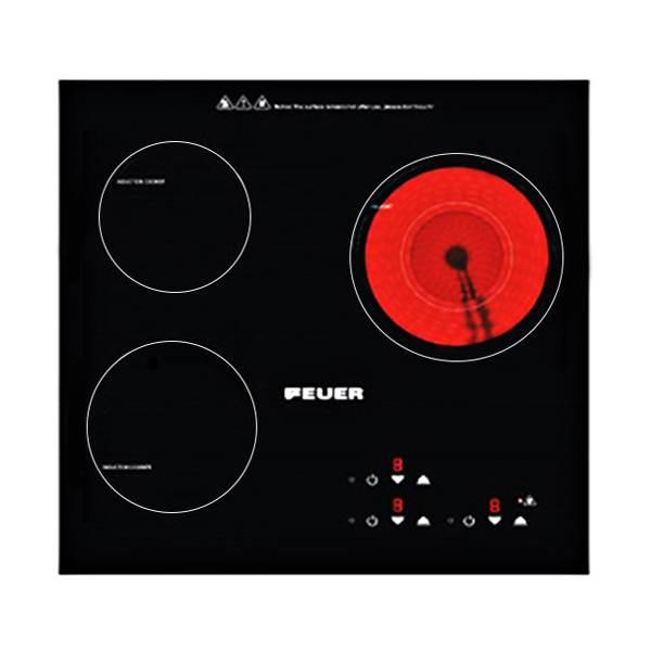 Bếp ba điện từ kết hợp Feuer FE-D09