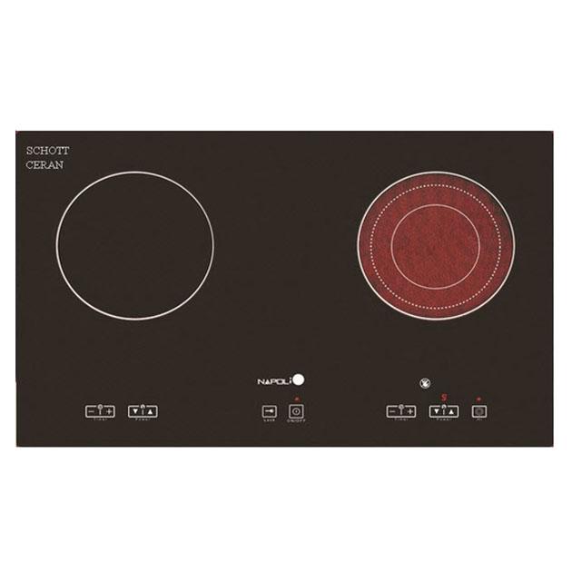 Bếp hỗn hợp điện từ Napoli NA800K2