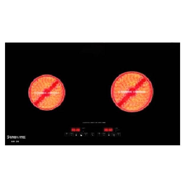 Bếp hồng ngoại đôi Sunhome SB-2E