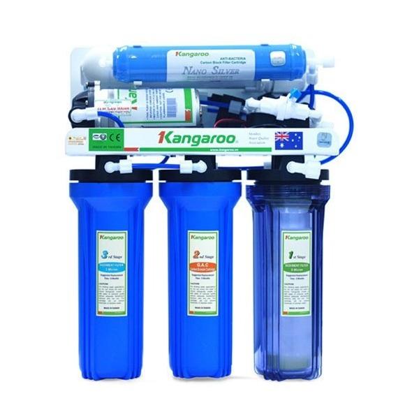 Máy lọc nước Kangaroo KG 105 (5 lõi không vỏ)